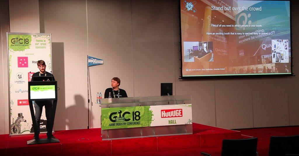 GIC Soliton Solutions Talk Trade show marketing media buzz and hype, Alexander Scach