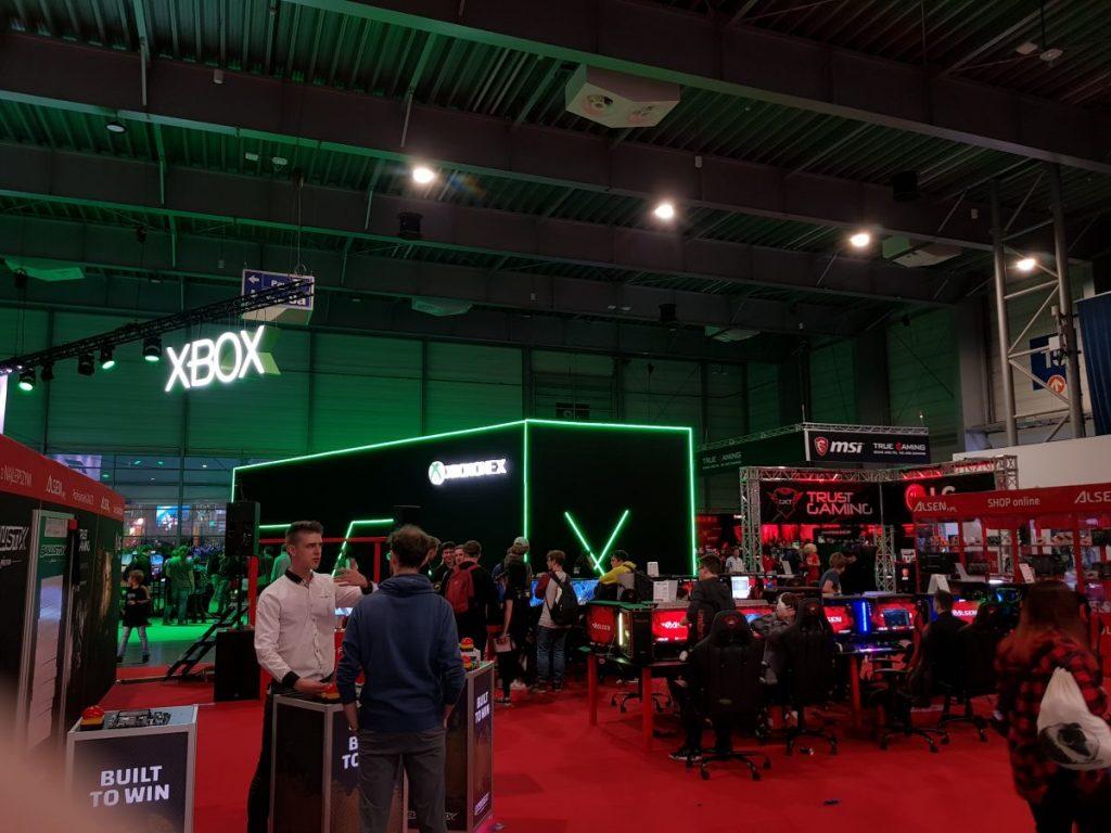 XBOX trade show booth