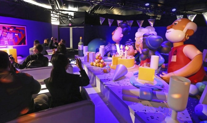 Peak Creativity: Building an Amusement Park in Your Booth at the CES