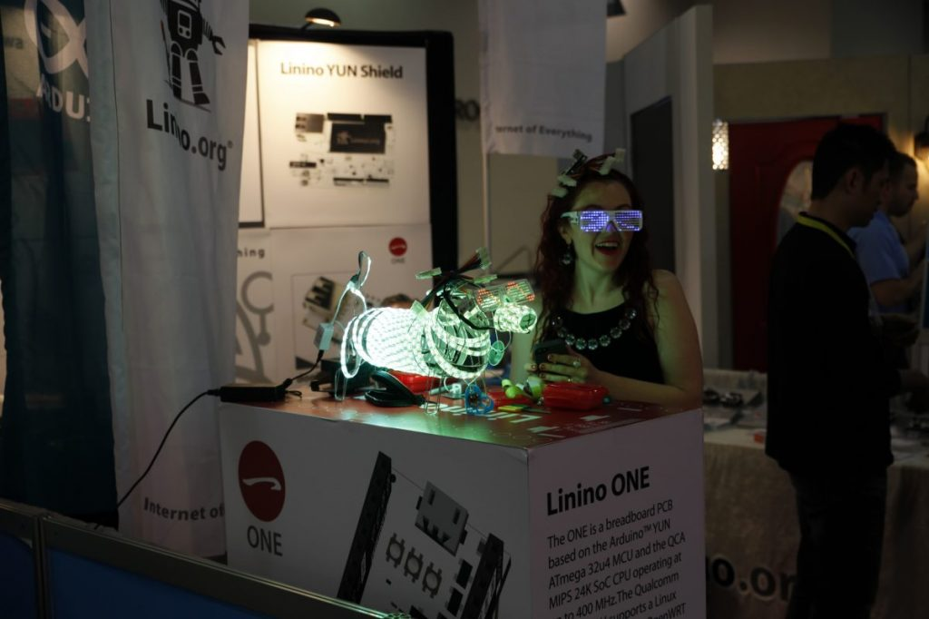 stand out at tech trade shows