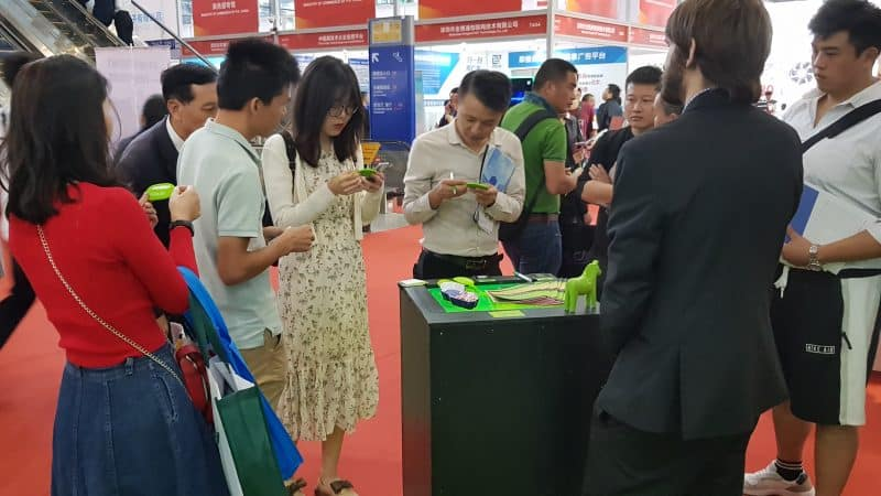 Buzz and Hype at KIPa Booth CHTF 2019 Soliton Solutions PR