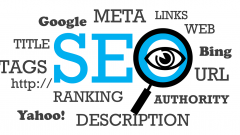 Search Engine Optimisation Graphic Word Cloud