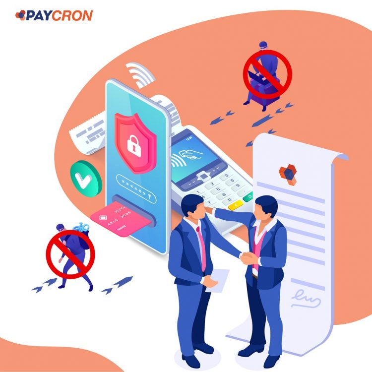 Paycron e-check service