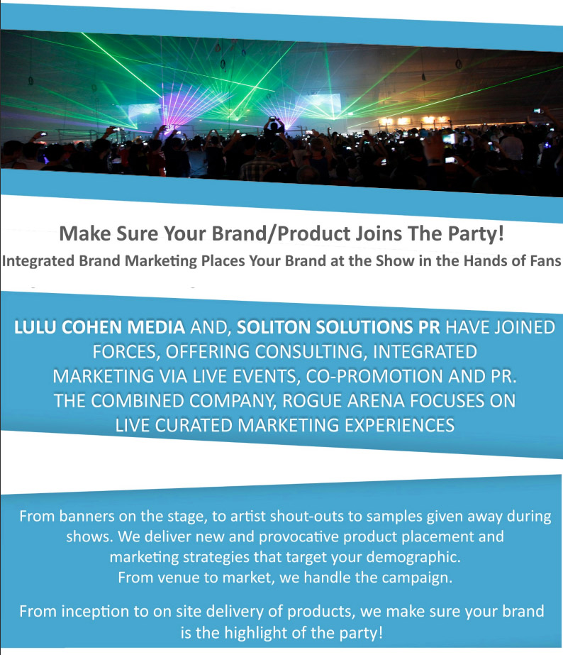 branded promotional opportunities for businesses with artist
