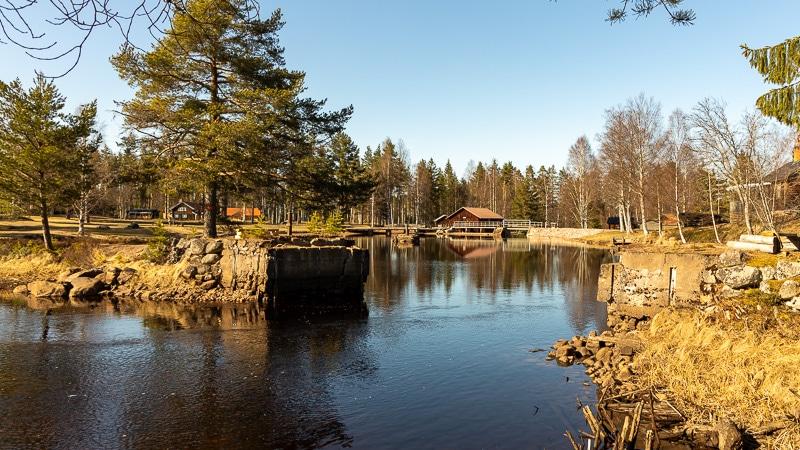 Ny bro i Mångberg