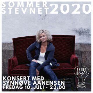 Under sommerstevnet i år kan du få med deg konsert med Synnøve Aanensen! Fredag 10. Juli kl 22:00 i hovedteltet. #dfef #sommestevnet #dfefsommerstevnet #sommerstevnet2020 #shineyourlight #solstrandcamping