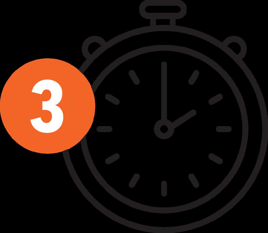 Zetmethode - icons - orange 3