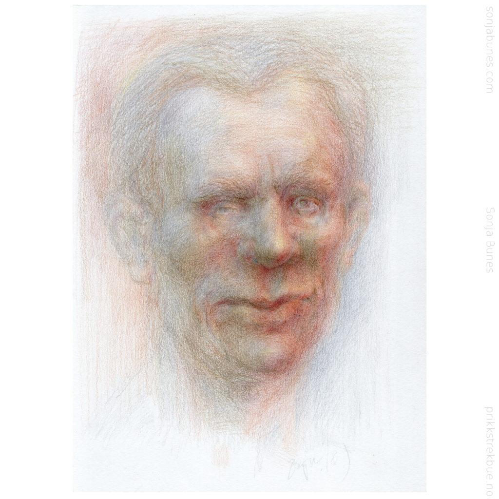 Experienced Sonja Bunes Color Pencil Drawing A4 2020