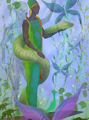 Sonja Bunes 2001 Digital Collage Life