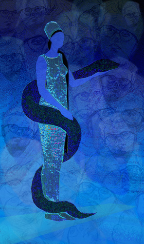 Sonja Bunes 2001 Digital Collage Water