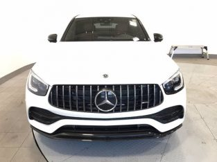Clean 2020 Glc 43 AMG Coupe white color