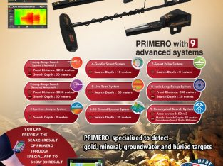 Prospecting for gold and minerals – Primero Ajax