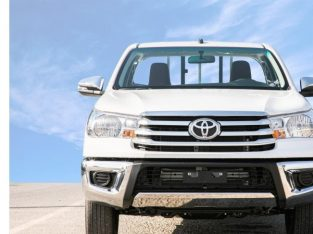 Toyota Hilux 2.7L Gcc 4×2 Single Cabin
