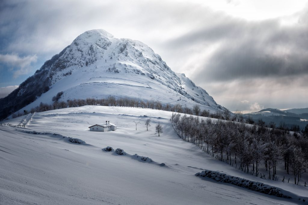 Ernio nevado