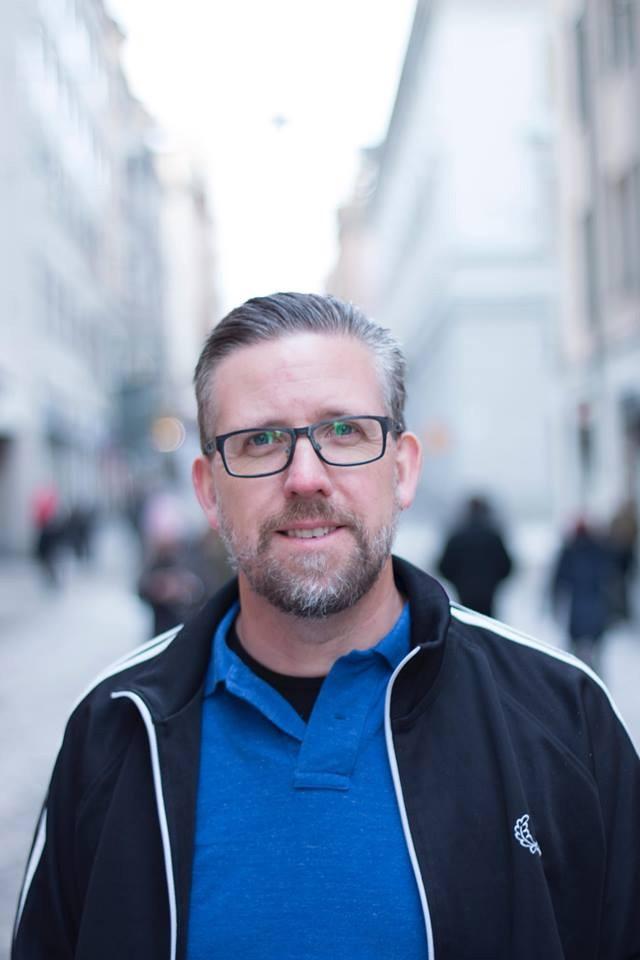 Porträtt av David Johansson