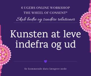 Kunsten at leve indefra og ud 6 ugers wheel of consent workshop