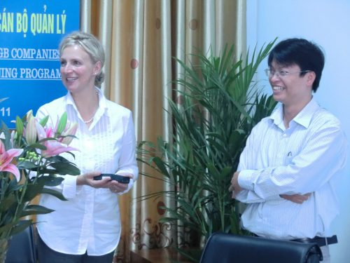 Vietnam 2011: Co-operation with the VINACOMIN Training Centre
