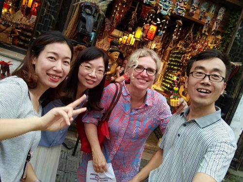 China 2018: Excursion with Chinese Course Participants