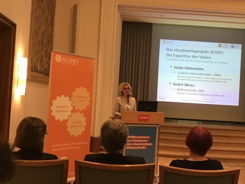 Berlin 2018: Final Conference on SCIVET Project – Internationalising German Vocational Education and Training in the Crafts Sector
