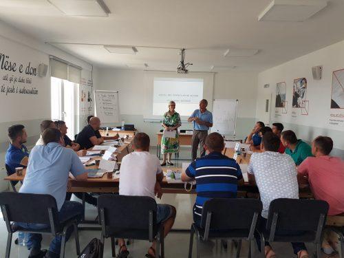 Kosovo 2019: Pedagogy and Didactics Training for Bricklayers