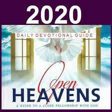 OPEN HEAVEN 9th JULY 2020 THURSDAY: AND TWO SHALL BECOME ONE FLESH