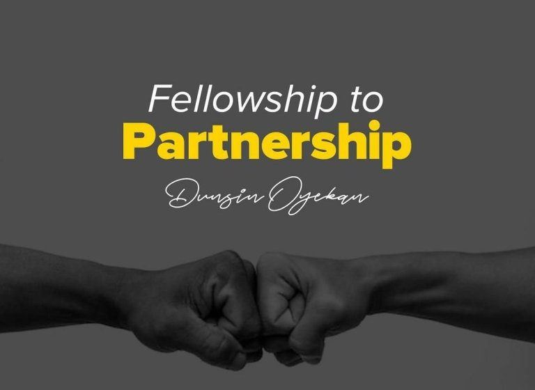 DOWNLOAD Music: Dunsin Oyekan – Fellowship To Partnership