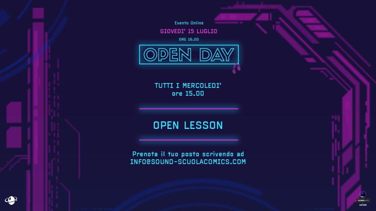 OpenLessonMercoledì