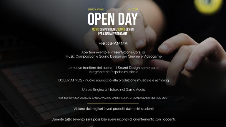 Open Day roma 2022 PROG