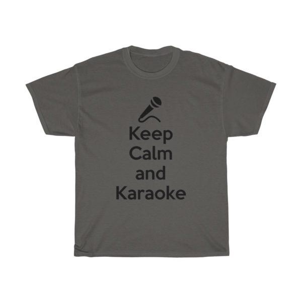 Keep Calm and Karaoke Unisex Heavy Cotton Tee 6