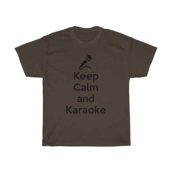 Keep Calm and Karaoke Unisex Heavy Cotton Tee 7
