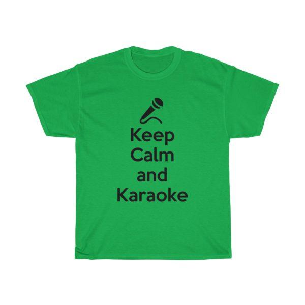 Keep Calm and Karaoke Unisex Heavy Cotton Tee 10