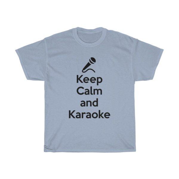 Keep Calm and Karaoke Unisex Heavy Cotton Tee 12