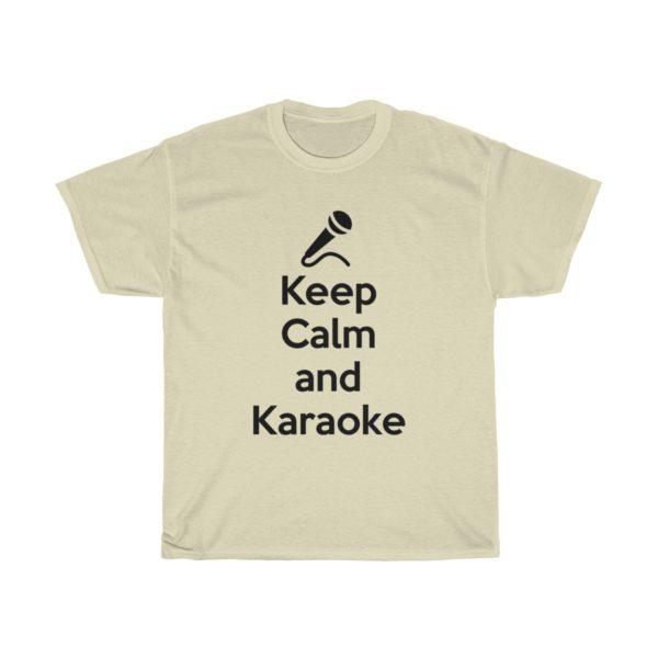 Keep Calm and Karaoke Unisex Heavy Cotton Tee 8