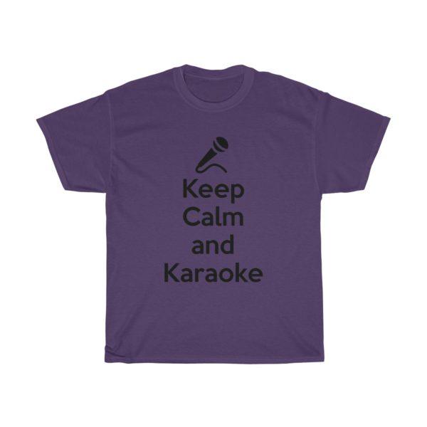 Keep Calm and Karaoke Unisex Heavy Cotton Tee 15