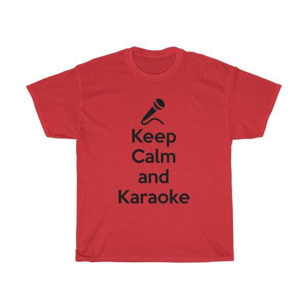Keep Calm and Karaoke Unisex Heavy Cotton Tee 16