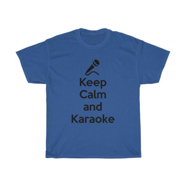 Keep Calm and Karaoke Unisex Heavy Cotton Tee 13