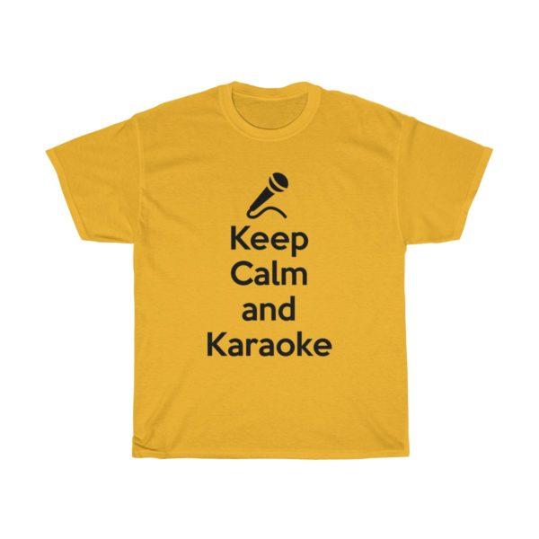 Keep Calm and Karaoke Unisex Heavy Cotton Tee 5