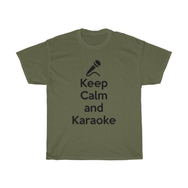 Keep Calm and Karaoke Unisex Heavy Cotton Tee 9