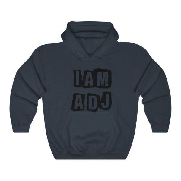 I am a DJ Unisex Heavy Blend™ Hooded Sweatshirt 4