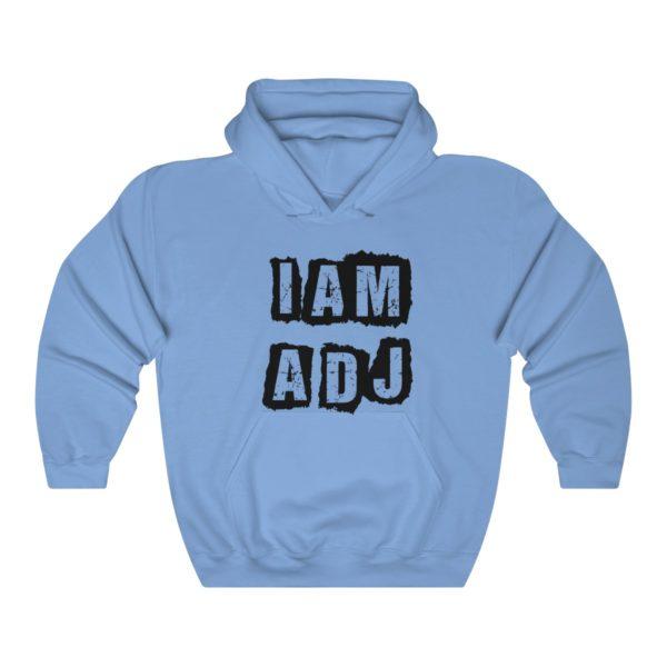 I am a DJ Unisex Heavy Blend™ Hooded Sweatshirt 1