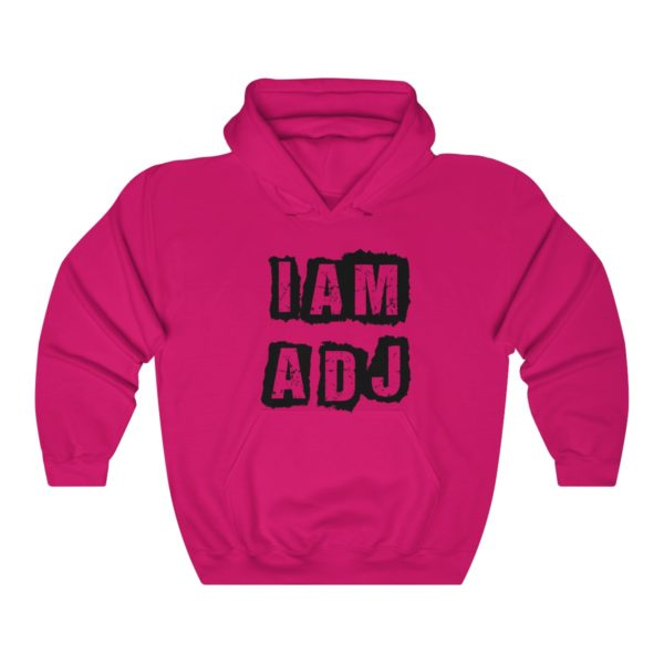 I am a DJ Unisex Heavy Blend™ Hooded Sweatshirt 6