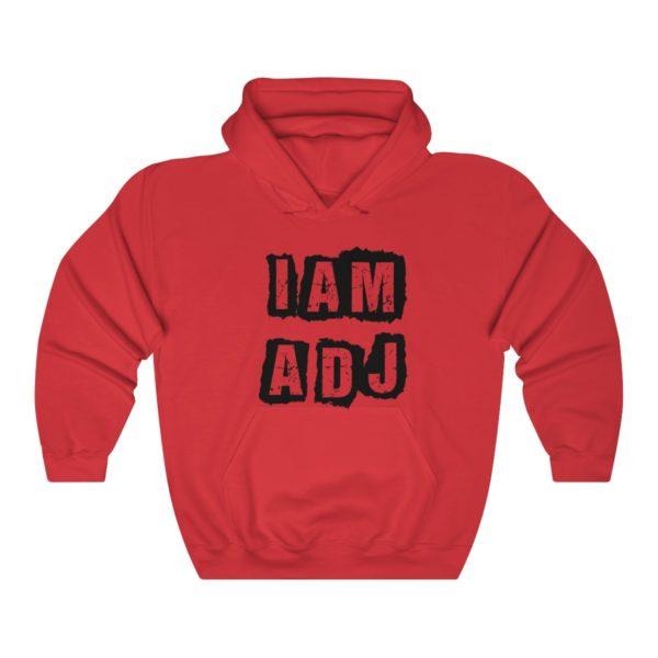I am a DJ Unisex Heavy Blend™ Hooded Sweatshirt 9