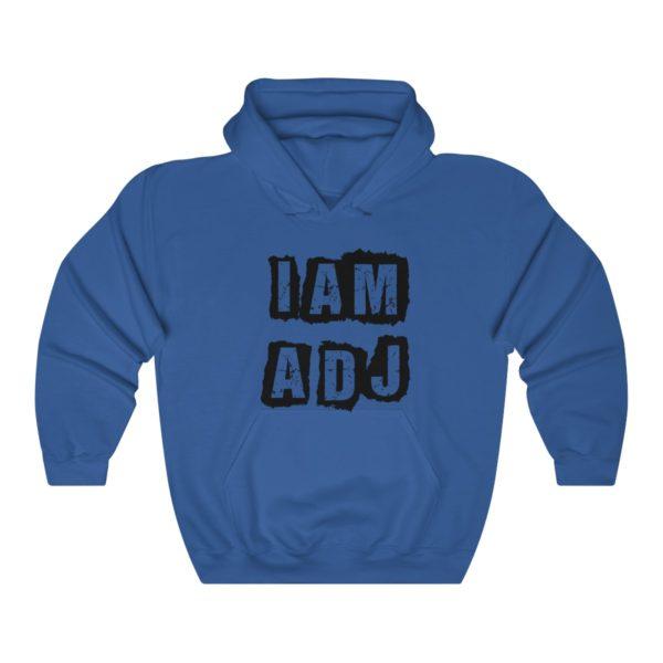 I am a DJ Unisex Heavy Blend™ Hooded Sweatshirt 3