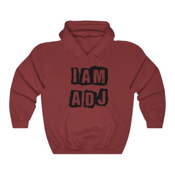 I am a DJ Unisex Heavy Blend™ Hooded Sweatshirt 12