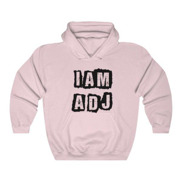 I am a DJ Unisex Heavy Blend™ Hooded Sweatshirt 8