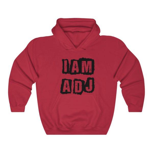 I am a DJ Unisex Heavy Blend™ Hooded Sweatshirt 10