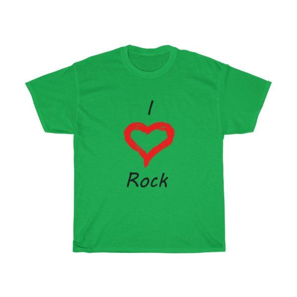 I Love Rock Unisex Heavy Cotton Tee 10