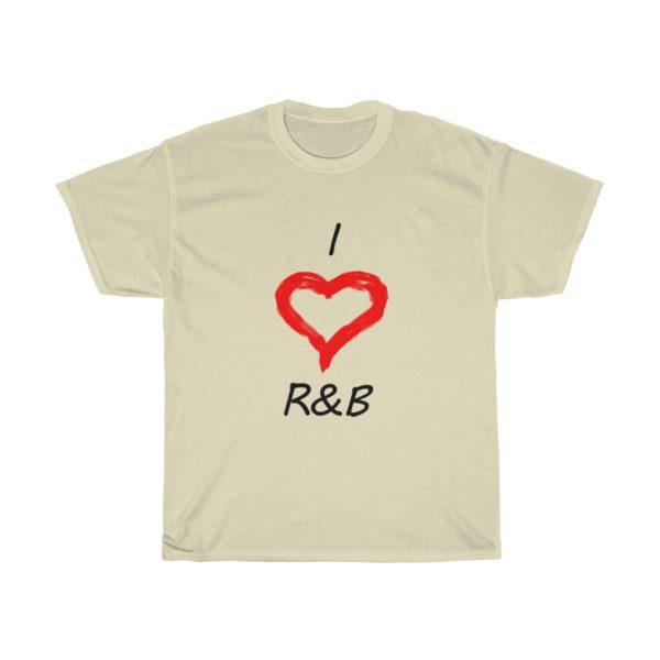I Love R&B Unisex Heavy Cotton Tee 8