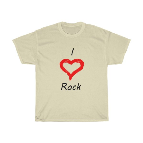 I Love Rock Unisex Heavy Cotton Tee 8