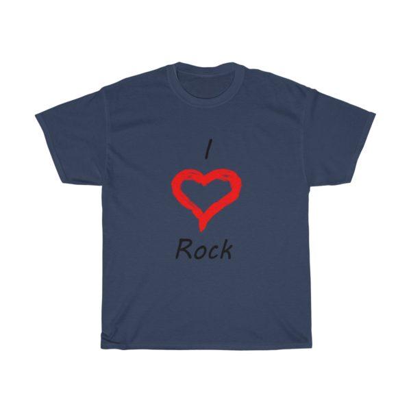 I Love Rock Unisex Heavy Cotton Tee 14